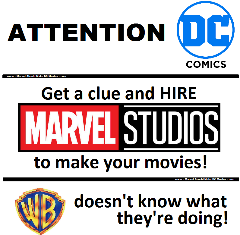 Marvel Studios should be creating DC's movie universe
